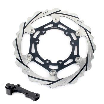 BIKINGBOY Front Brake Disc Disk Rotor Bracket For Honda CRF 250 450 R 2004-2014 CRF250X 04-12 CRF450X 04-15 CR 125 250 R E 04-08