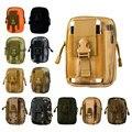 Universal sports militar tático coldre de cinto saco da cintura telefone case para elephone s7 p9000 r9 oukitel k4000 k6000 pro