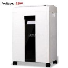 220V 16L Office High Power Automatic Electric Paper Shredder File Shredder Electric Silent Paper Crushed Shredder 2*6mm 9954#
