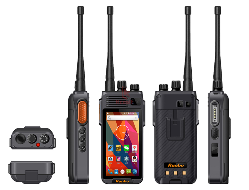 China Runbo K1 IP67 Waterproof Phone Rugged Android Smartphone Quad Core DMR Digital VHF Radio UHF PTT Walkie Talkie GPS 4G LTE