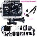 2016 nova frete grátis go hero pro 3 style sj4000 câmera 30 M À Prova D' Água 1080 P Full HD DVR Esporte action Camera + Monopé