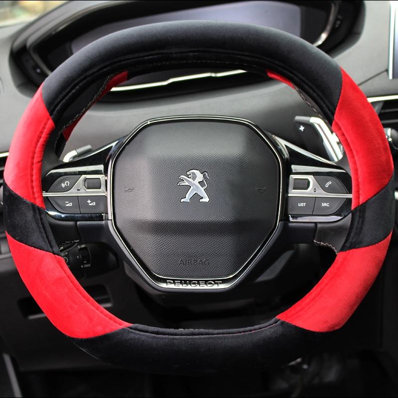 KKYSYELVA Cubierta del coche para Peugeot 4008 5008 nueva 508 de rueda de Auto cubre Accesorios intérieurs
