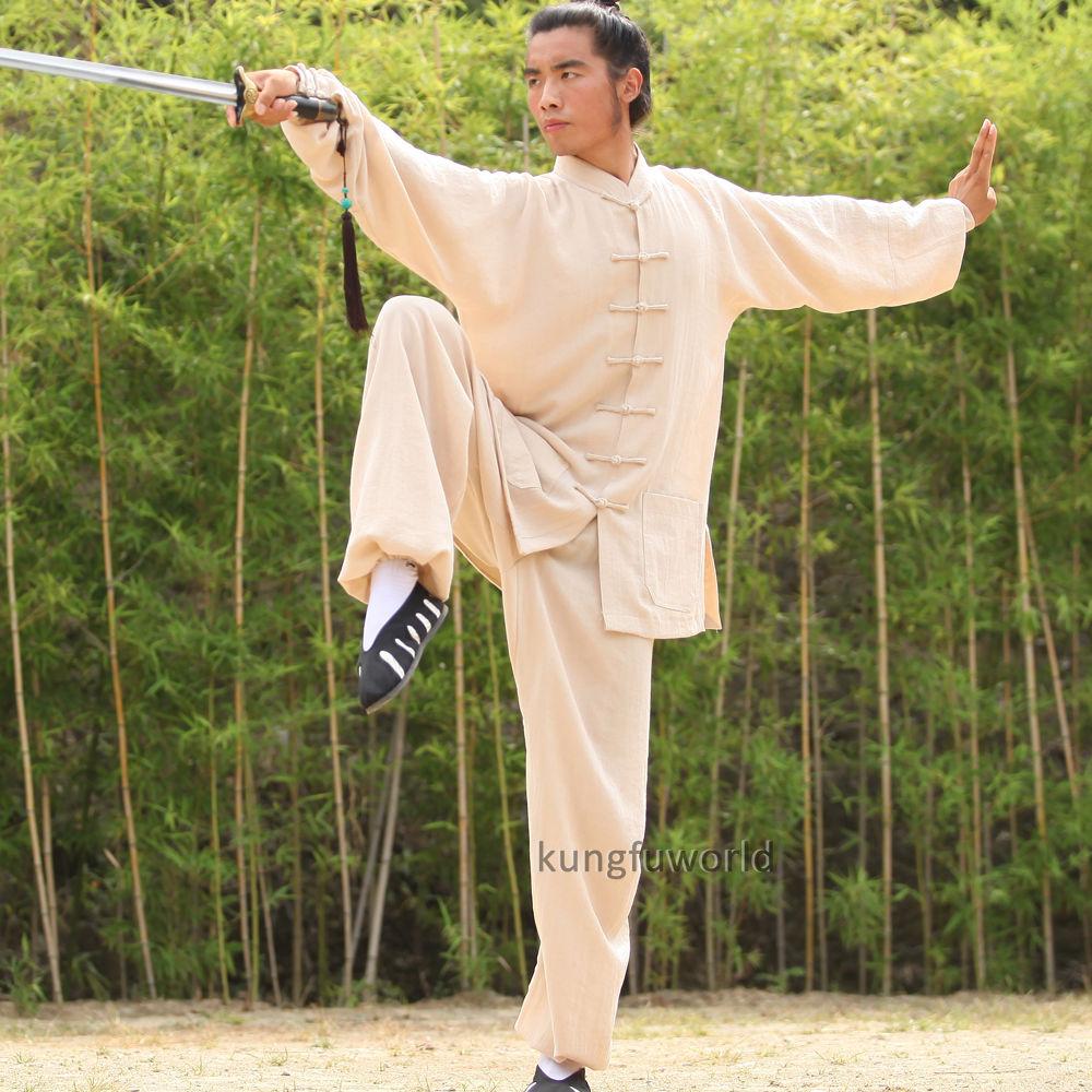 24 Kleuren Linnen Wudang Taoïstische Shaolin Monnik Tai chi Uniform - Sportkleding en accessoires - Foto 6