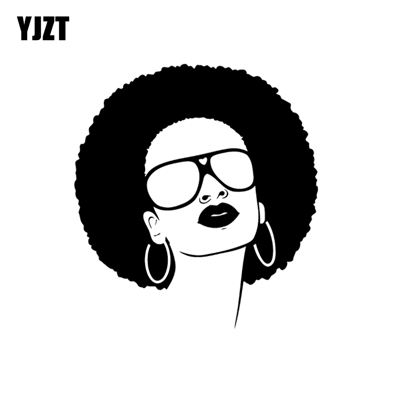 Yjzt 121132Cm Hot Black Woman Girl Sunglasses Beauty -8317