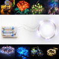 Origlam Waterproof 4M / 13.2ft 40 LEDs Flexible Copper Wire LED Starry String Lights  with 3 Modes for Party / Garden