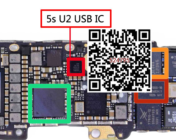 10 unids/lote CBTL1610A1UK para 5S U2 USB IC 36 pins
