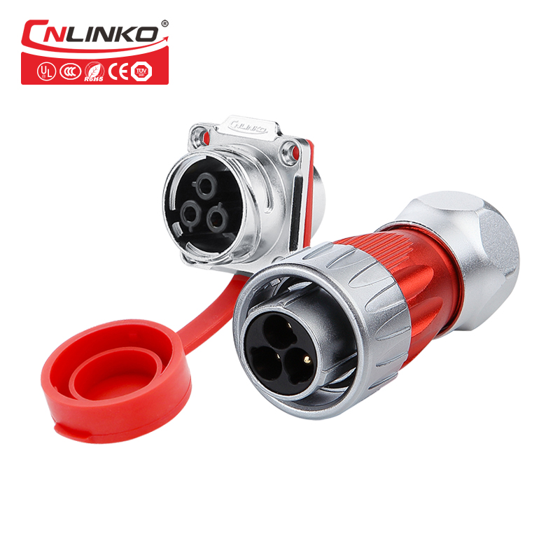 Cnlinko 3-pin electric socket wire plug flat cable connector ip67 waterproof dc power plug connector areyourshop hot sale 50 pcs musical audio speaker cable wire 4mm gold plated banana plug connector