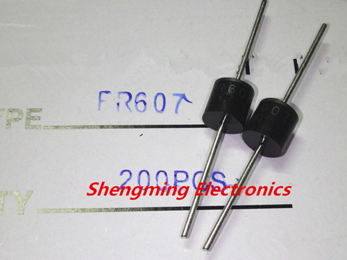10pcs FR607 6A 1000V Fast Recovery Diodes NEW