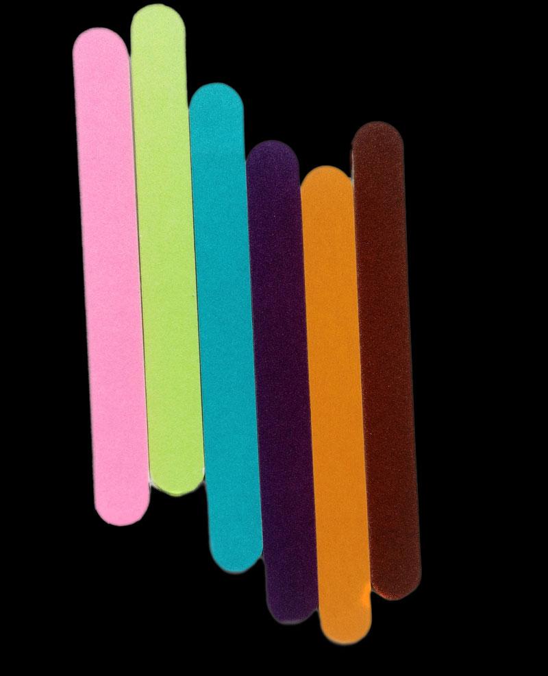 5 teile/los Neue Design doppelseite Schleifen Polieren Nagelfeilen ...
