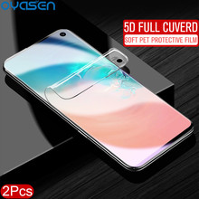 2Pcs/lot 5D Screen Protector For Samsung Galaxy S10 Plus S10e S10Plus Full Cuverd PET Soft Protecive Case Cover Film(Not Glass)