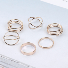 Fashion Minimalist Women's Rings Set