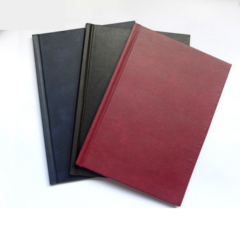 Diary Cover PU Note Book Cover Thermal Binding  Cover A4 A5 Size 3-15mm (binding 11-145sheets) 3 Colors Optional Wholesale