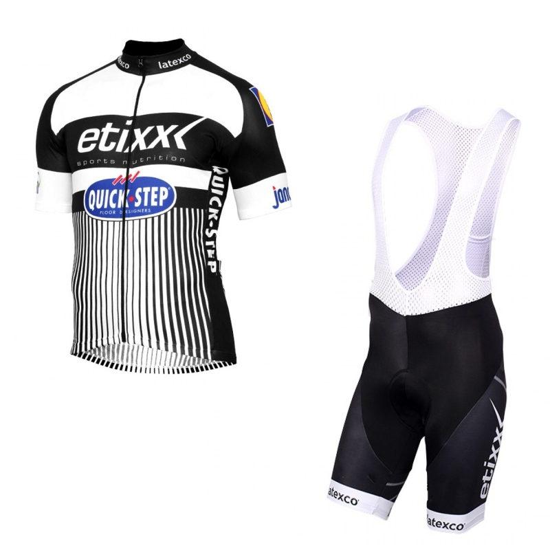ФОТО 2016 tour team etixx quick step bike cycling jersey kit summer Short sleeve quick dry cloth MTB Ropa Ciclismo Bicycle maillot