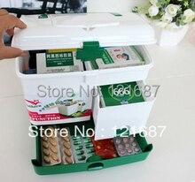 Extra große haushalt-layer first aid kit multifunktionale medizin-box/verbandskasten/Aufbewahrungsboxen & Bins