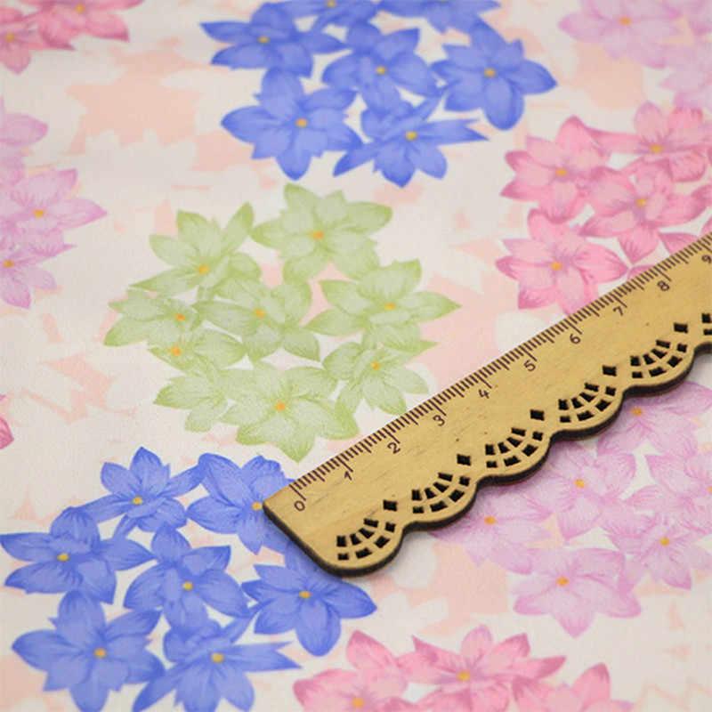 FYS49 50*140 см розовый гиацинт японский стиль шелковая ткань для кимоно Qipao Gambiered кантон марлевая ткань Шелковый шарф DIY сумочка