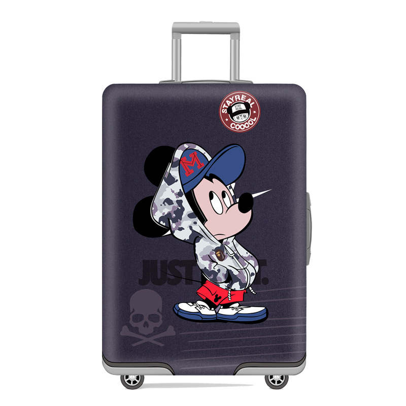 TRIPNUO Cartoon  Travel Luggage Cover Starry Sky Elastic Trolley Suitcase Women's Men's Protect Dust Case Accessories