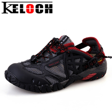 1508ce34ce761 Keloch New Men Sneakers Women spring summer Breathable Hiking Trekking  Trail Water Sandals Outdoor Sport walking