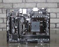 original motherboard for Gigabyte GA F2A88XM DS2 DDR3 Socket FM2 FM2+ 64GB A88X F2A88XM DS2 Desktop motherboard Free shipping