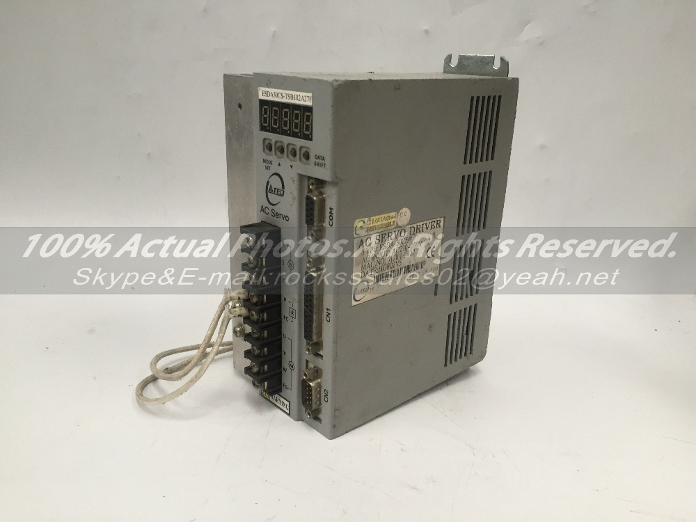 Teco servo drive ESDA-20B Used In Good Condition With Free Shipping DHL* / EMS dhl ems yaskawa trd y2048 servo motor encoder good in condition for industry use a1