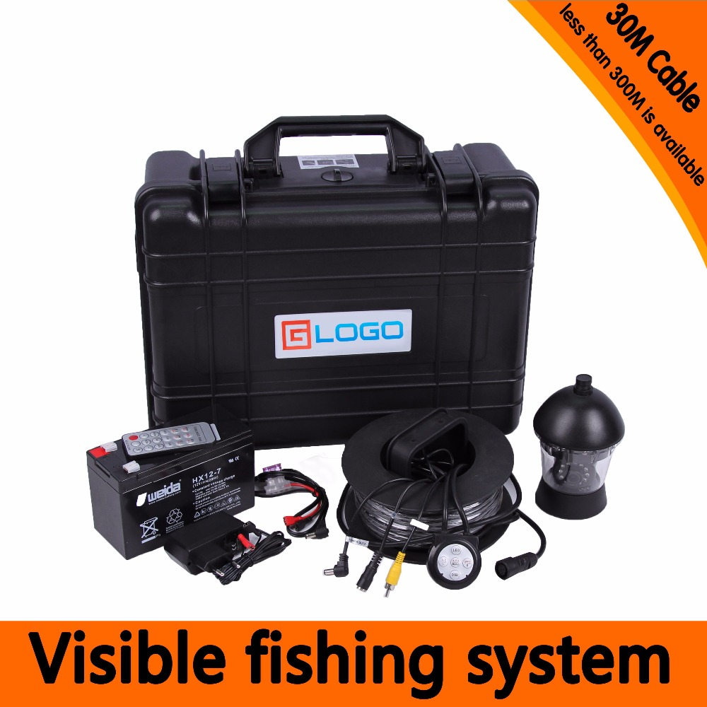 (1 Set) 50M Cable 360 Degree Rotative camera with 7inch TFT-LCD Display and HD 1000 TVL line Underwater Fishing Camera system 1 set 50m cable 360 degree rotative camera with 7inch tft lcd display and hd 1000 tvl line underwater fishing camera system