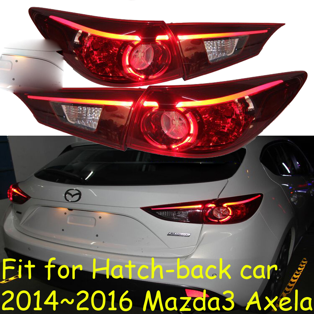 Hatch-back,Mazd3 Axela taillight,LED,2014~2016year,Free ship!Tribute,RX-7,MX-3,Miata,CX-3,CX-5,Navajo,Axela rear lamp 3 colors diy 25 5cm decorative sticker for mazda 626 323 cx 9 cx 7 rx 8 rx 7 2 demio miata mx 5 bt 50 mazdaspeed cx 5 flair 3 6 5 premacy atenza axela