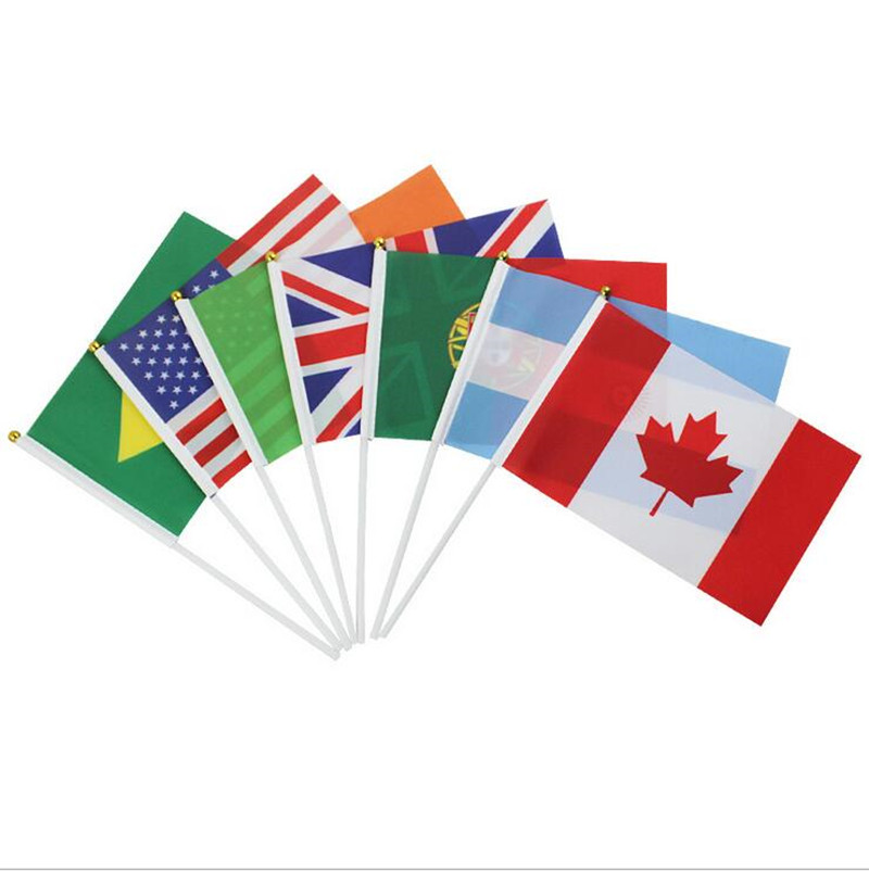 Online Buy Wholesale hand flags from China hand flags