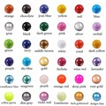 36 Colors 20mm Jingle Party Bell Women Belly Jewelry Wholesale Chime Bola Pendant Mexican Bola Baby Angel Caller Sphere Joyas