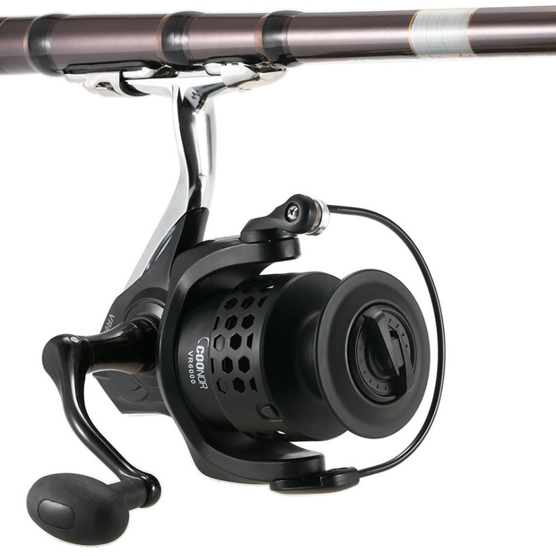 Image 4 - Deshion 12BB Carp Spinning Fishing Reels Wheel 3000 Series Aluminum Reel Seat Spinning Reel for Freshwater/ Saltwater-in Fishing Reels from Sports & Entertainment