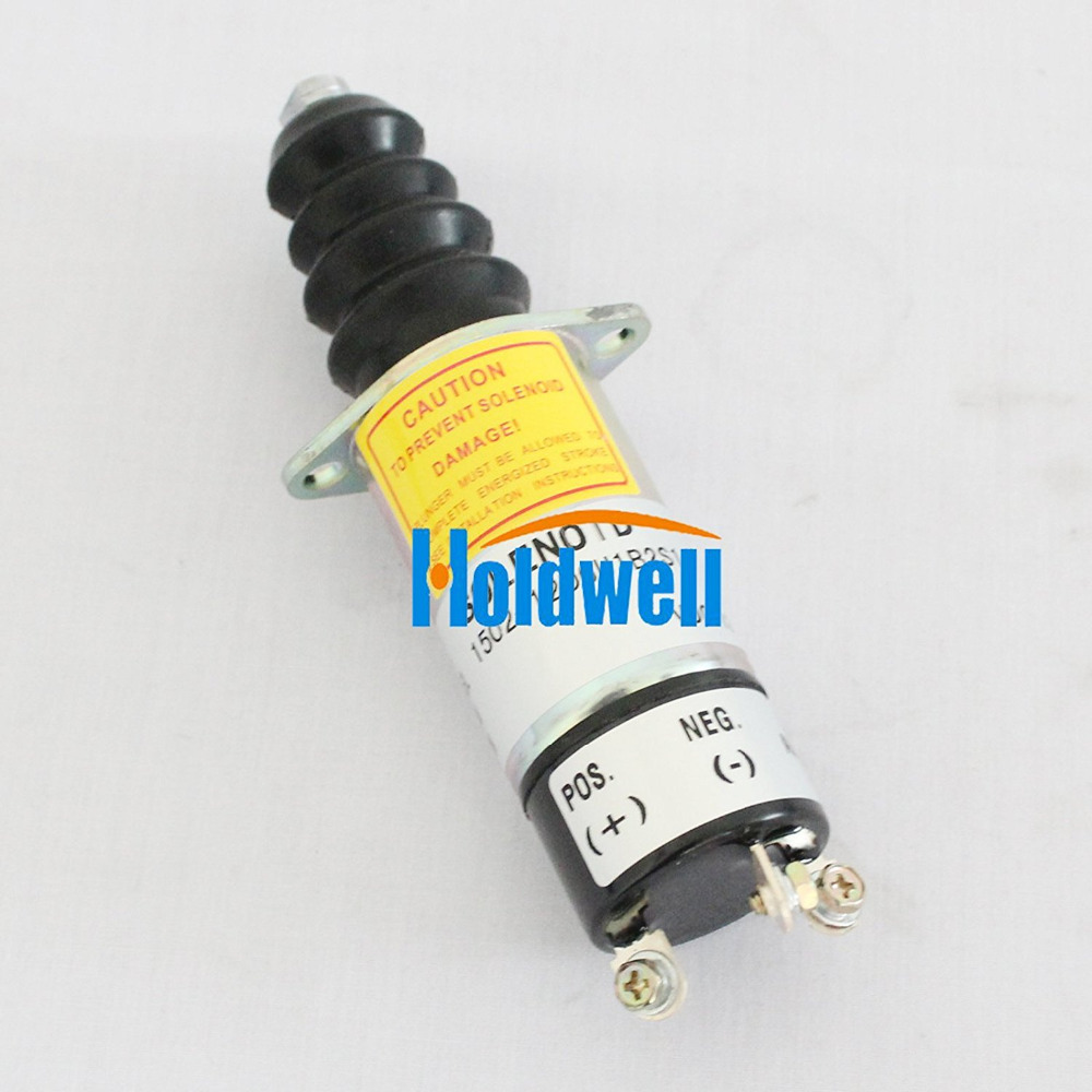 New Stop solenoid 1500-2011 1502-12D6U1B2S1A for Woodward 12V 1502es 12c2u1b1s1 for solenoid 1500 1008 12v 1502es
