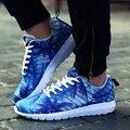 Мужчины Дышащий Повседневная Обувь Марка Дизайнер Мужской Тренеры Мода Красочные Квартиры Обувь Zapatillas Хомбре