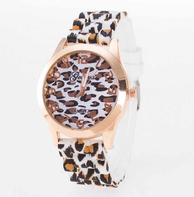#5001 אופנה יוניסקס ז 'נבה נמר סיליקון ג' לי GelQuartz אנלוגי שעון יד reloj hombre חדש הגעה Freeshipping חם מכירות