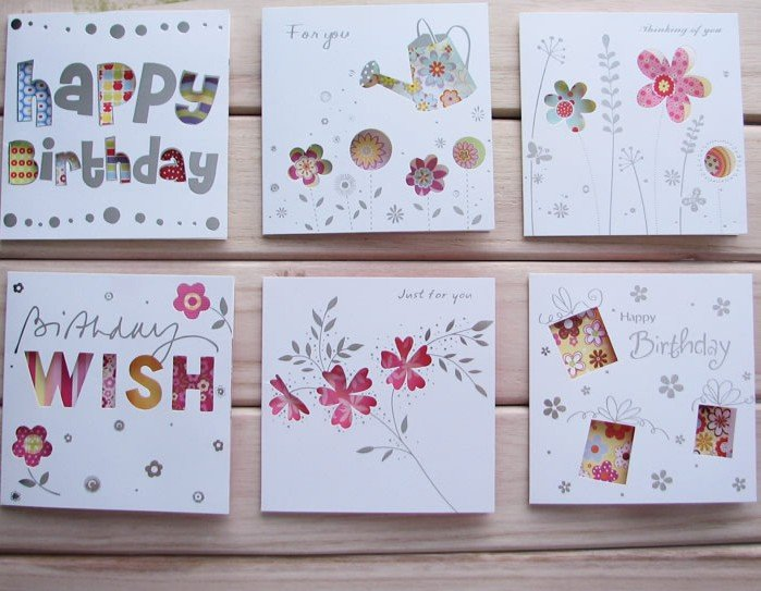 diy greeting cards birthday cards christmas cards 500pcslotfree shipping on aliexpresscom alibaba group - Diy Greeting Cards