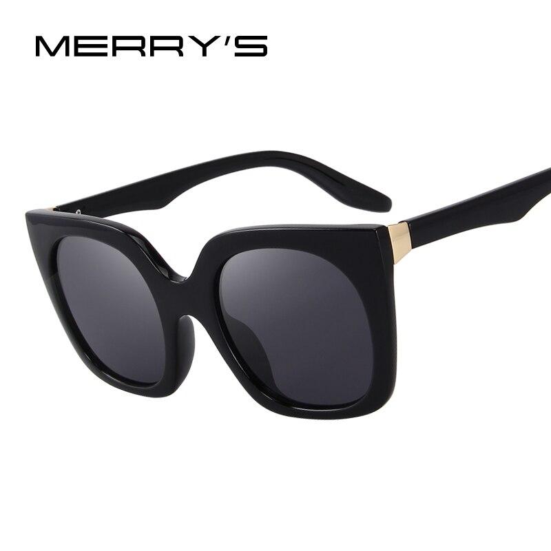 MERRY S Fashion Cat Eye Sunglasses Women Brand Designer Retro Sunglasses S 6209
