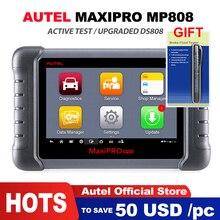 Autel MaxiPRO MP808 OBD2 автомобильный сканер для диагностики инструмента OBDII OE-level двунаправленный контроль ключа программиста считыватель кода PK DS808