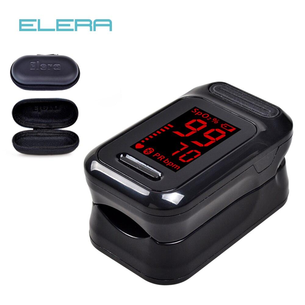 ELERA Finger-pulsoximeter Oximetro de dedo Tragbare Blut Sauerstoff Saturometro SPO2 PR Pulsioximetro Pulsoximeter Oxymeter