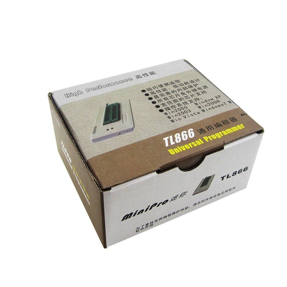 1PCS TL866II TL866 2018 October Updated MiniPro Universal Programmer High Performance 100% New