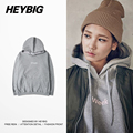 2017 New arrival HEYBIG fleece warn Winter Sweatshirts Chinese size! men Hip hop Tracksuits Hooded Pullovers soft comfy Hood