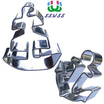 Starożytny okręt wojenny kształt lukier dekoracyjny do ciasta narzędzia tnące, pirat żeglarstwo serii Cookie formy do pieczenia ciastek, sprzedaż bezpośrednia