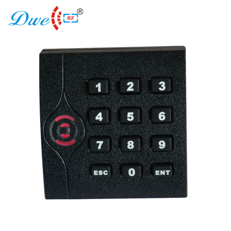 DWE CC RF access control card reader TCP/IP communication door access card reader smart chip card readers with password