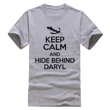 The Walking Dead Keep Calm and Hide Behind Daryl T-Shirt