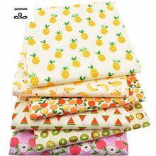 6pcs/lot,Twill Cotton Fabric Patchwork Cartoon Tissue Cloth Of Handmade DIY Quilting Sewing Baby&Children Sheets Dress Material(China)