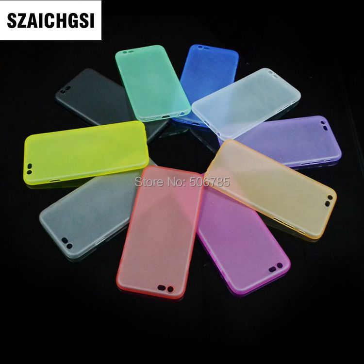 SZAICHGSI wholesale 500pcs/lot Ultra Thin colorful mobile