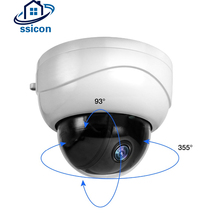 SSICON 2MP 2.5 Inch AHD Zoom Camera Outdoor 2.8-12mm Motorized Lens IR Distance 50M Infrared Dome Mini PTZ Camera 1080P цена