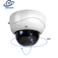 SSICON 2MP 2.5 Inch AHD Zoom Camera Outdoor 2.8 12mm Motorized Lens IR Distance 50M Infrared Dome Mini PTZ Camera 1080P
