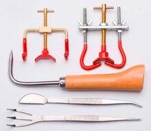 Garden & Bonsai Tool Kit (5 Pcs Per Set) Gbtk-01 Branch Benders / Bonsai Hook / Bonsai Tweezers