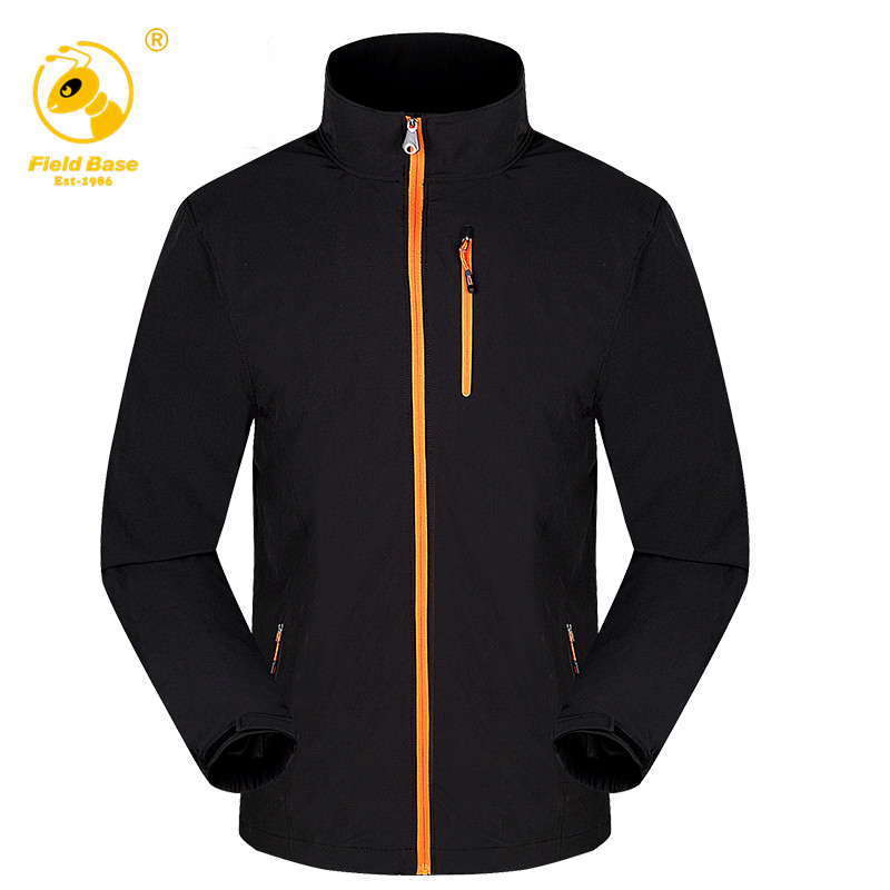 Campo Base marca hombres chaqueta softshell chaquetas de senderismo chaquetas de