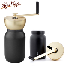 Portable Stainless steel Coffee Grinder Manual Hand Maker Mill Machine Travel Tools