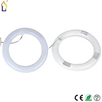 60pcs Lot 12W AC85 265V G10q SMD2835 128leds LED Circular Tube LED Circle Ring Lamp Luxury