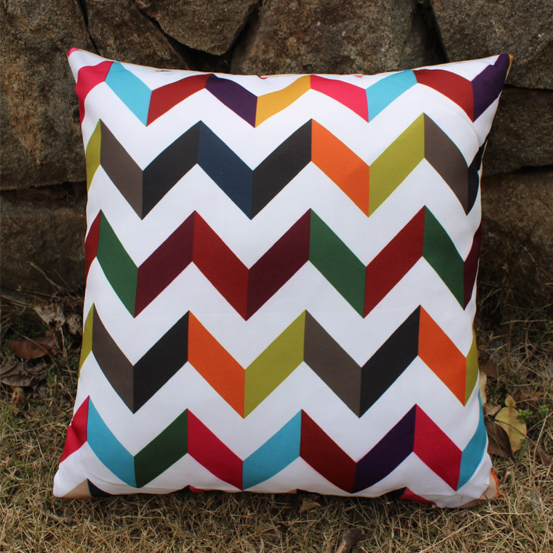 Multicolored Decorative Pillows