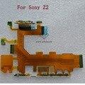 Botón de encendido volumen y micrófono flex para sony xperia z2 motherboard flex cable cinta para sony xperia z2 d6503 d6502 D6543